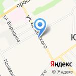 Сеть магазинов зоотоваров на карте Барнаула