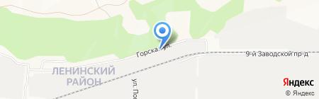 АТЗ на карте Барнаула