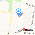 Управление по строительству и архитектуре Администрации Индустриального района на карте Барнаула
