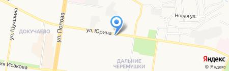 Адрес на карте Барнаула