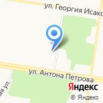 ПГК №17 на карте Барнаула