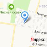 Дом молитвы Евангельских христиан-баптистов на карте Барнаула
