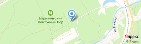 Шквал на карте Барнаула