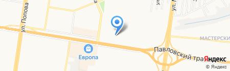 Женская консультация №9 на карте Барнаула