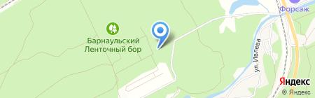 Джедай на карте Барнаула