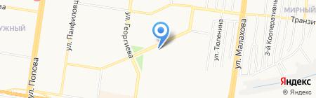 Распродажа на карте Барнаула
