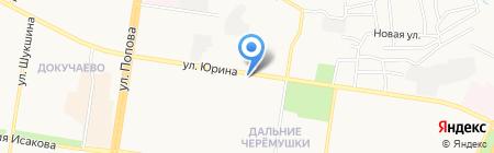 Пятница на карте Барнаула