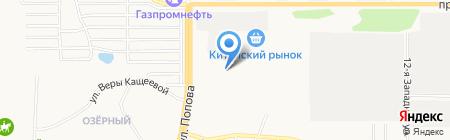 Купол Плюс на карте Барнаула