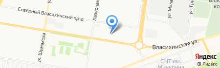 Центр Адаптации на карте Барнаула