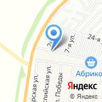 Яблоко на карте Барнаула
