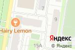 Схема проезда до компании Гланс в Барнауле