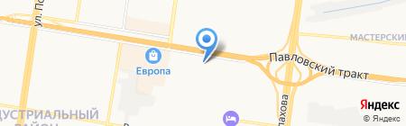 QIWI Post на карте Барнаула
