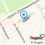 Центр развития ребенка-детский сад №132 на карте Барнаула