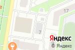 Схема проезда до компании Коммунсервис в Барнауле