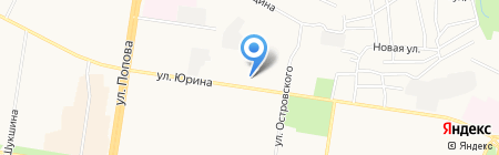 Студия рукоделия на карте Барнаула
