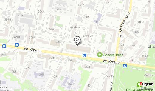 Студия рукоделия. Схема проезда в Барнауле