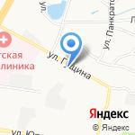 Абат на карте Барнаула