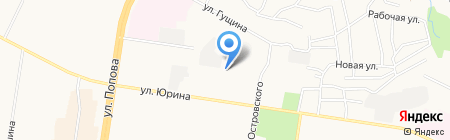 Армянский лаваш на карте Барнаула