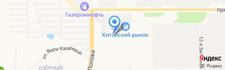 АлтайГазобетонСтрой на карте Барнаула