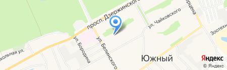 Детский сад №132 на карте Барнаула