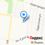 ЖЭУ №20 на карте Барнаула
