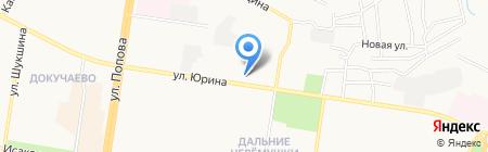 Магазин игровых приставок на карте Барнаула