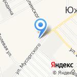 Южком-сервис на карте Барнаула