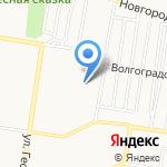 Энтузиастов 3А на карте Барнаула