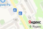Схема проезда до компании Зеленый сад в Барнауле