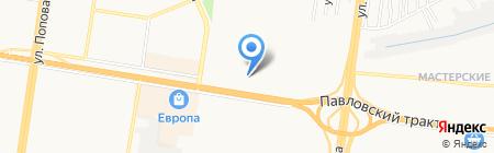 СФЕРА на карте Барнаула