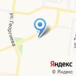 МТС на карте Барнаула