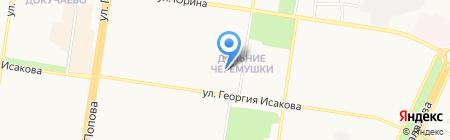 Совет территориального общественного самоуправления Юбилейного микрорайона Ленинского района на карте Барнаула