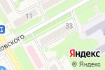 Схема проезда до компании Магазин косметики и парфюмерии в Барнауле