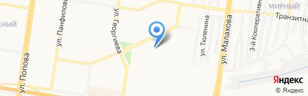 Диспетчер-Лифт на карте Барнаула