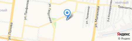 Жилищный участок №2 на карте Барнаула