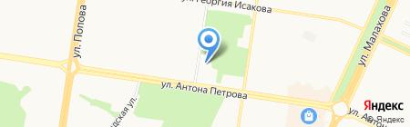 АГАКИ на карте Барнаула