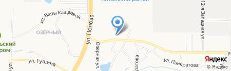 АлтайДорс на карте Барнаула