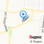 Нотариус Мельник Е.Ю. на карте Барнаула