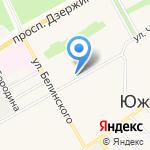 Юрист на карте Барнаула