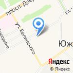 Магазин женской одежды и кожгалантереи на карте Барнаула