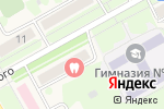 Схема проезда до компании Сеть салонов оптики в Барнауле