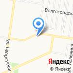 Чинар на карте Барнаула