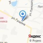 ПТФ Молодежная на карте Барнаула