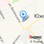 Мэм на карте Барнаула