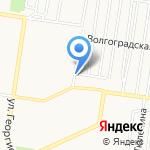 Магазин разливного пива на карте Барнаула