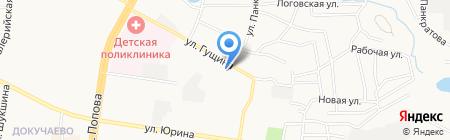 Комильфо на карте Барнаула