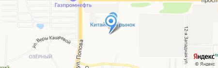 Гигант на карте Барнаула