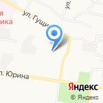 Автопарковка на карте Барнаула