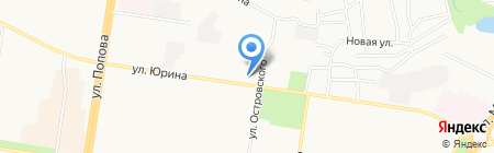 Мир канцелярии на карте Барнаула