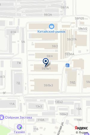 SOFT Мебель на карте Барнаула